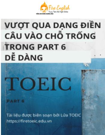 part 6 toeic